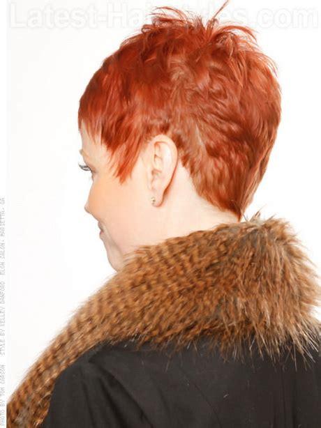 fenimine short haircut rear view pixie haircut back