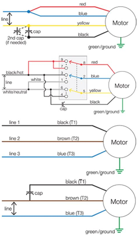 psc motor diagram 4 speed blower motor wiring diagram