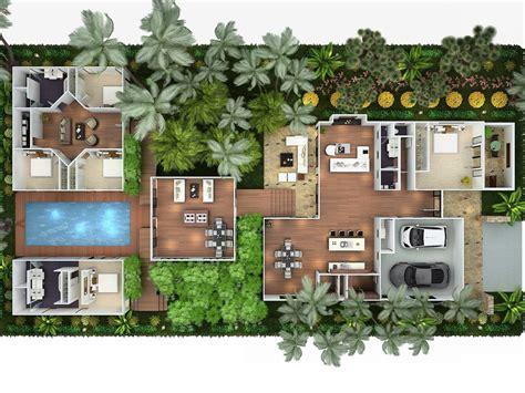 planos jardines casa habitaci 243 n con 225 reas independientes unidas por