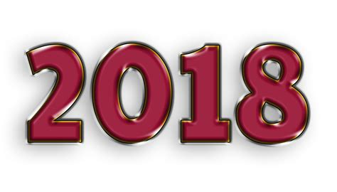 new year 2018 year of happy new year 2018 hd 4k 3d png images new year 2018