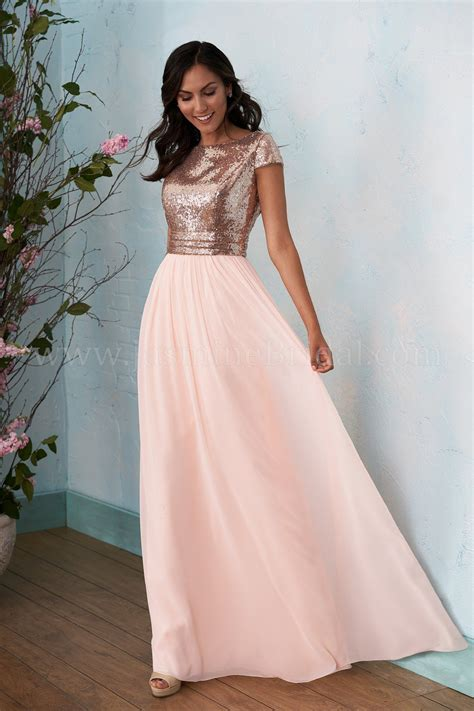 Jasmine Bridal B Style B In Rose Gold Dreamsicle