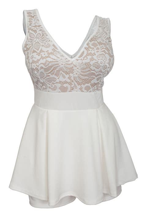 plus size lace overlay sleeveless romper dress black plus size lace overlay sleeveless romper dress ivory