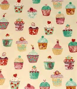 Grey Chenille Upholstery Fabric Vanilla Pvc Cupcakes Fabric Just Fabrics