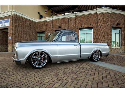 1970 chevrolet c 10 custom 700 silver gray custom ls