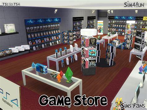 sims 4 cc shopping ts2 to ts4 game store by sim4fun at sims fans via sims 4