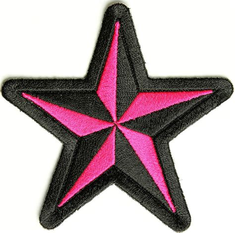 pink star pink star patch ladies patches thecheapplace