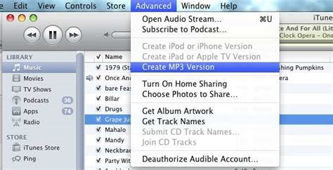 audio format used by itunes convert wav to mp3 in itunes