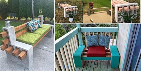 cinder block bench diy diy cinder block bench home design garden architecture blog magazine