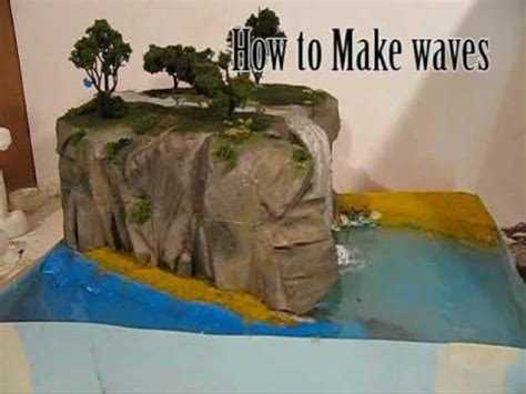 How To Make A River Out Of Paper - make diorama water effects