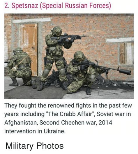 Russian Army Meme - 2 spetsnaz special russian forces they fought the renowned