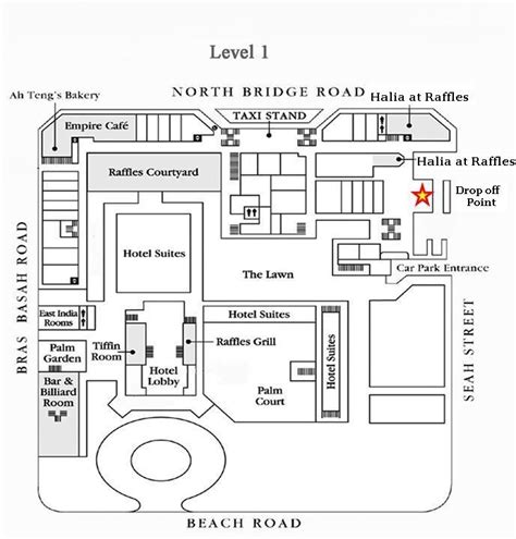 raffles hotel floor plan raffles singapore layout singapore black white houses