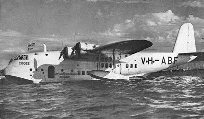 qantas flying boat photos 1942 qantas short empire shootdown wikipedia