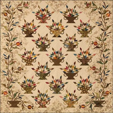Flower Box Quilts by Quilt Club 2013 Edyta Sitar And Laundry Basket Quilts