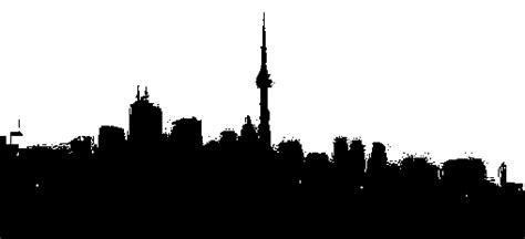 mobile city canada domain pics black and white silhouette of toronto