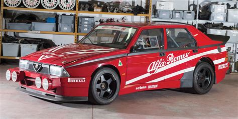 alfa romeo race cars this ultra cool alfa romeo 75 race car is yours for 130 000