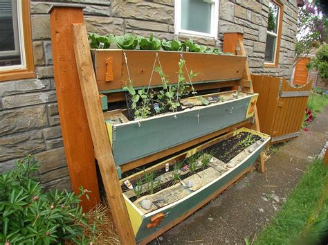 Vertical Garden Box Small Space Gardening 20 Clever Ideas To Grow In A