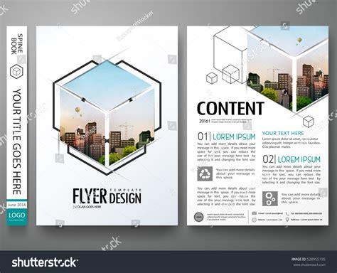 portfolio layout size portfolio design template vectorminimal brochure report
