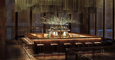 Four Seasons Grill Room by Glance At The New Bar In The Four Seasons Space