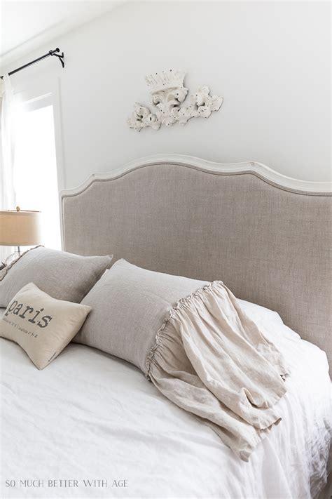 linen ruffle pillow cases review of 3 linen pillow shams for the master bedroom so
