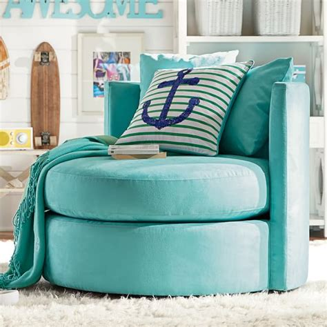 teenage bedroom chair round about chair pbteen
