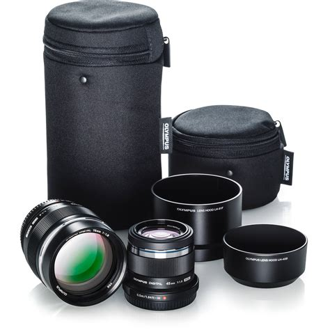 Olympus 45mm F1 8 Lens olympus portrait lens kit with 45mm f 1 8 and 75mm