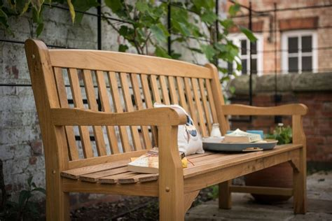 6 foot garden bench heritage oak 6ft garden bench 4 seater 163 359