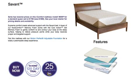 sit and sleep mattress serta icomfort mattress sets in