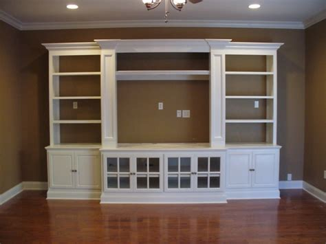 Built In by Built In Entertainment Center Casual Cottage