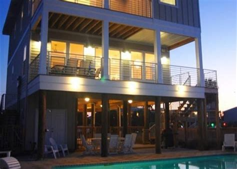 pensacola house rental soundfront home with pool
