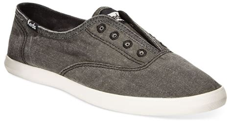 laceless sneakers womens keds s chillax laceless sneakers in gray charcoal