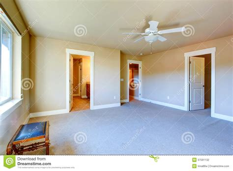 Carpet Ceiling by Room With Carpet Floor Ceiling Fan Has Walk In Closet And