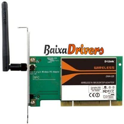 Sale D Link Dwa 525 150mbps Wireless Lan Pci Network Adapter baixar driver de rede wireless d link dwa 525