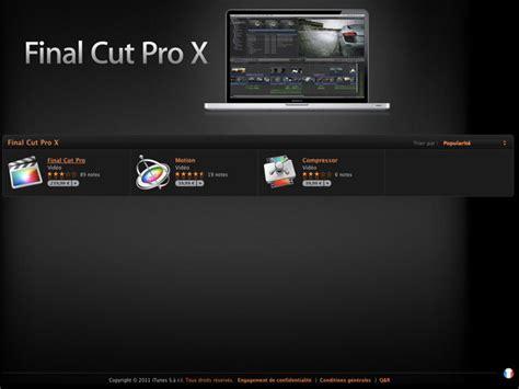 final cut pro hack for windows download se faire rembourser final cut pro x c est possible et