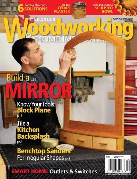 canadian woodworking home improvement issue
