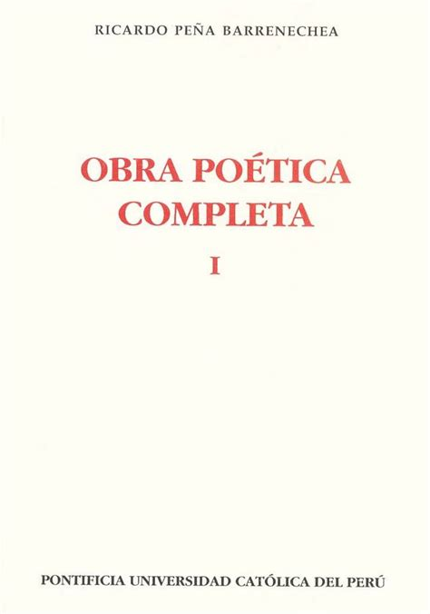 libro obra potica completa libros ricardo pe 241 a barrenechea obra po 233 tica completa