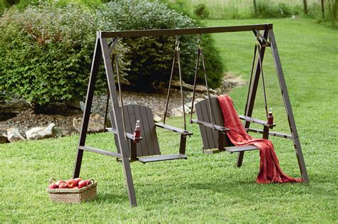 2 person swing mason green weston 2 person adirondack swing limited