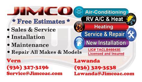 Ac Repair Business Card
