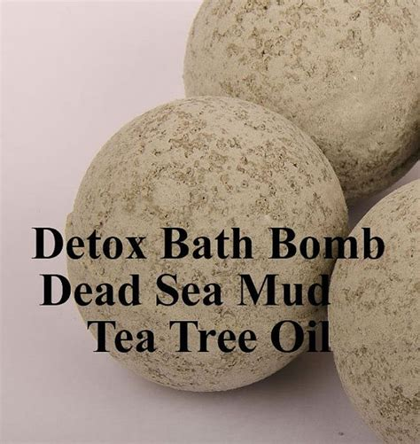 Detox Bath Bomb Recipe by 1000 Ideas About Tea Tree Essential On