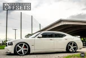 Dodge Charger Dropped Wheel Offset 2010 Dodge Charger Flush Dropped 3 Custom Rims