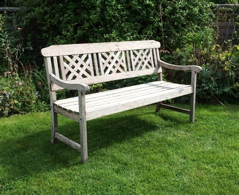 the bench company lattice bench in from the vintage garden company