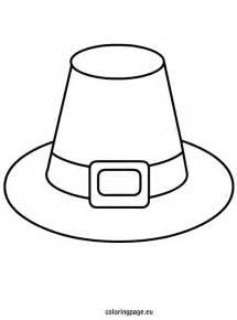 pilgrim hat printable template pilgrim hat template coloring page