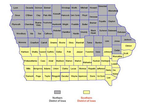 Iowa Circuit Court Search United States District Court For The Southern District Of Iowa