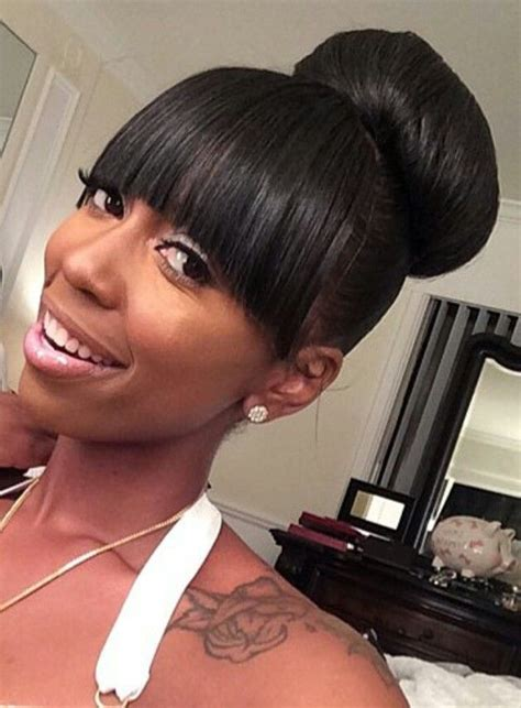 teen hairstyles for black girls bun and bang 100 ideas to try about my sew in styles 2016 2017 hair