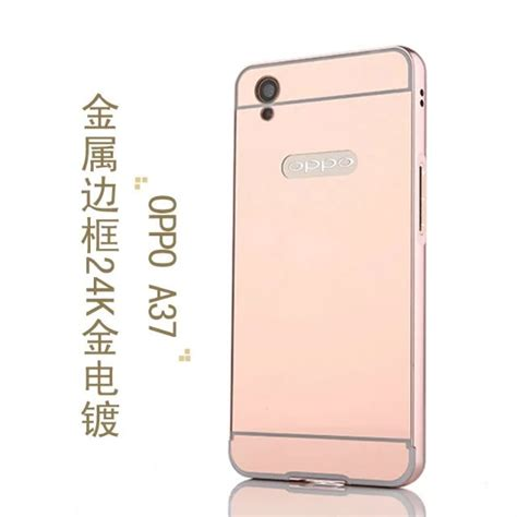 Softcase Mirror For Oppo Neo 9 flipcover protective for oppo a37 neo 9 free