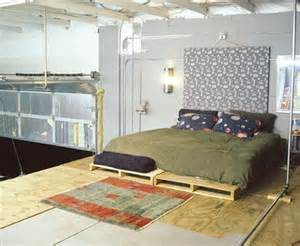 Euro Platform Bed Diy Pallet Bed Your Own Creativity Ideas 101 Pallets