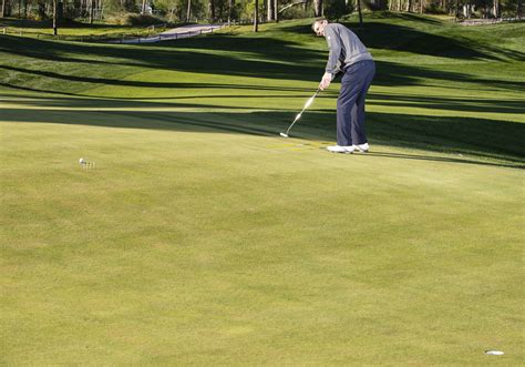 putting swing path golf putting tips see one straight line golf monthly