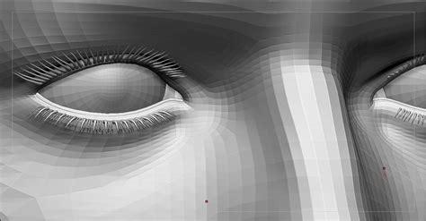 zbrush eyelashes tutorial creating hd eyelashes for characters tutorial cryengine