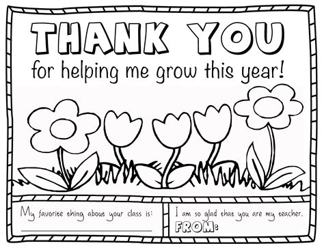 teacher appreciation coloring page projects in parenting