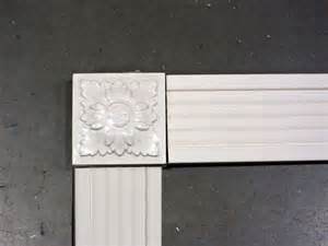 decorative trim for bathroom mirrors anyone framed a mirror with no miter moulding pip thenest