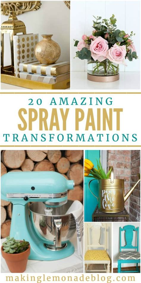 spray paint getting started 20 amazing spray paint transformations lemonade